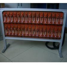 圆柱电池测试台
